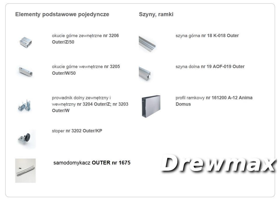 Prowadnik nr 3204 OUTER \ Z
